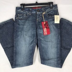 Guess jeans daredevil boot size 26 NWT
